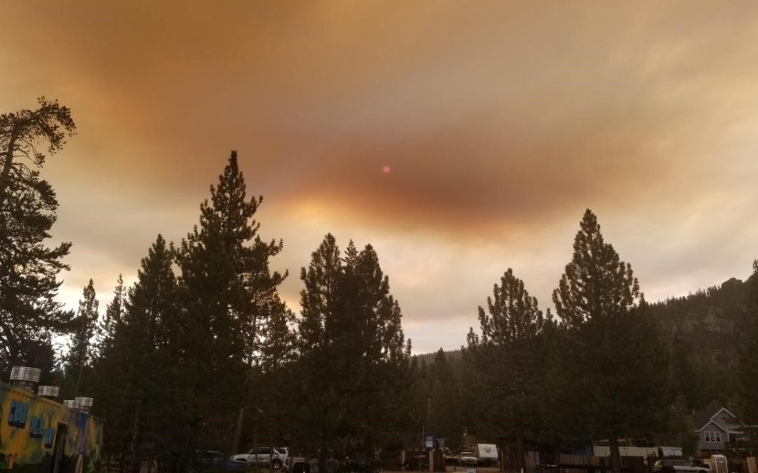 Lake Tahoe Boat Inspections Temporarily Closed Due to Wildfire Smoke and Safety Precautions